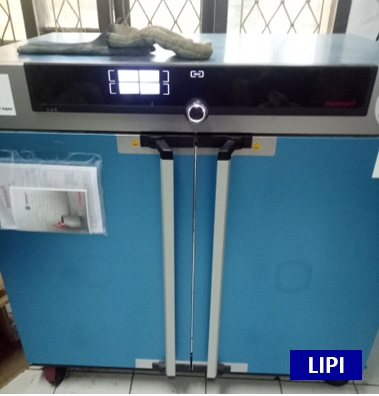 Drying Oven UF 450 di workshop (per 24 jam)