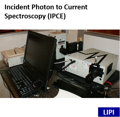 Incident Photon to Current Spectroscopy (IPCE)